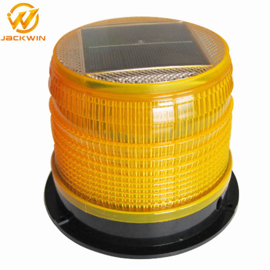 Super Bright Traffic Safety Solar Warning Light / Barricade Light / Road Flashing Lamp