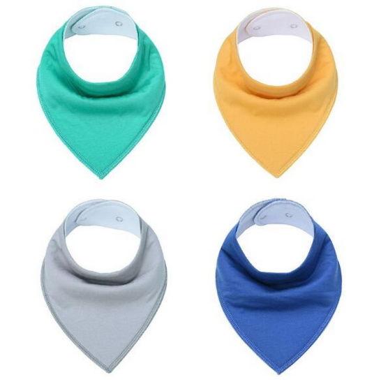 3eabda636225 China Ebay Amazon Hot Sell 100% Cotton Baby Bib Triangle Scarf ...