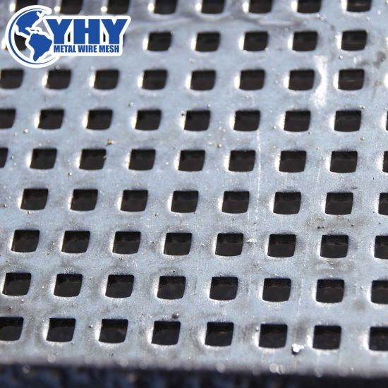 ISO9001 Certificated Perforated Metal Mesh
