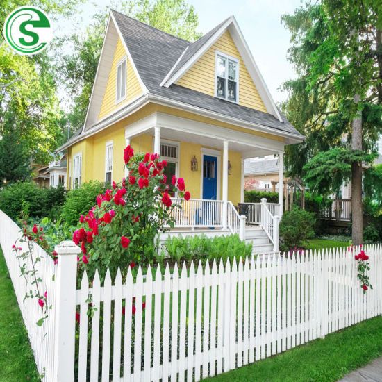 Decorative Garden Fence Cheap White Vinyl Picket Fencing for Sale