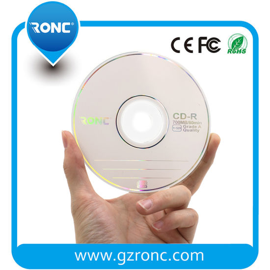 Factory Wholesale 1-52X 700MB 80min Cheap Blank CD-R in Bulk pictures & photos