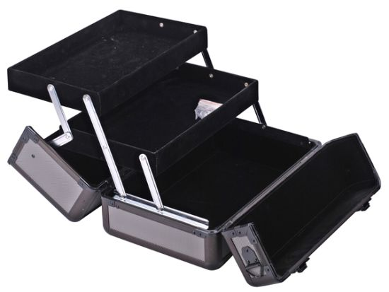 Color and Size OEM Aluminum Case/Cosmetic Makeup Aluminum Case/Barber Tool Case
