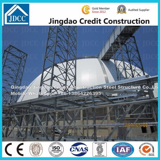 Jdcc Brand Special Shapes Arc Steel Structure Building