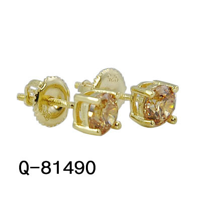 a906c2db2 Personalized Fine Jewelry 925 Sterling Silver Cubic Zirconia Stud Earrings  for Sale