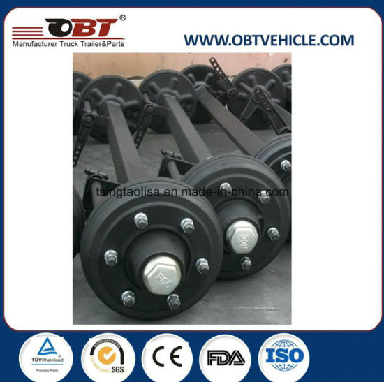 Obt Semi Trailer Straight Axle with Mechanical Disc Brake pictures & photos
