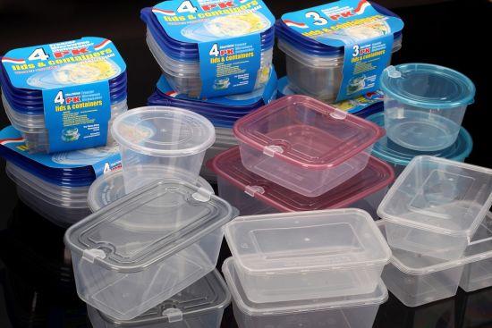 Plastic Kitchen Food Sweet Storage Box Container