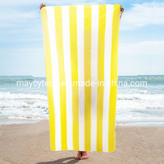 Absorbent Durable Sports Towel, Large Hotel Swimming Towel pictures & photos