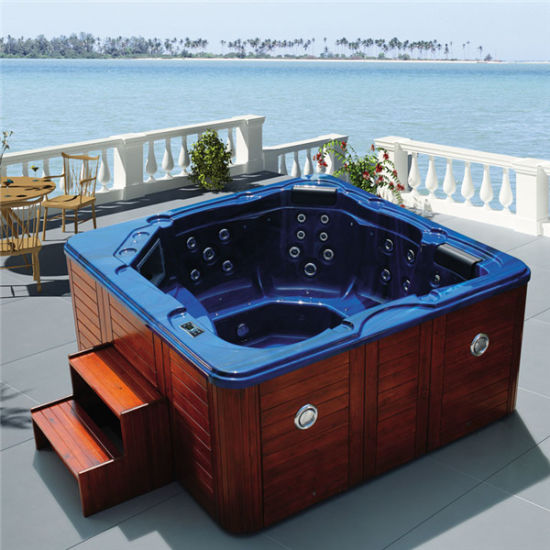 Monalisa Outdoor Hot Pool Shower Tub Jacuzzi SPA M-3345 pictures & photos
