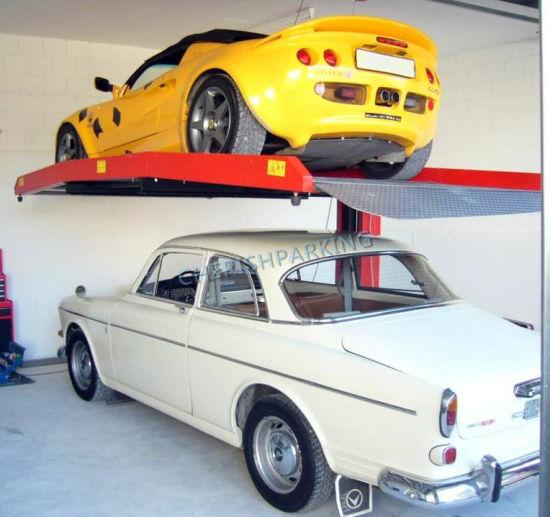 One Post Mechanical Car Parking Lift