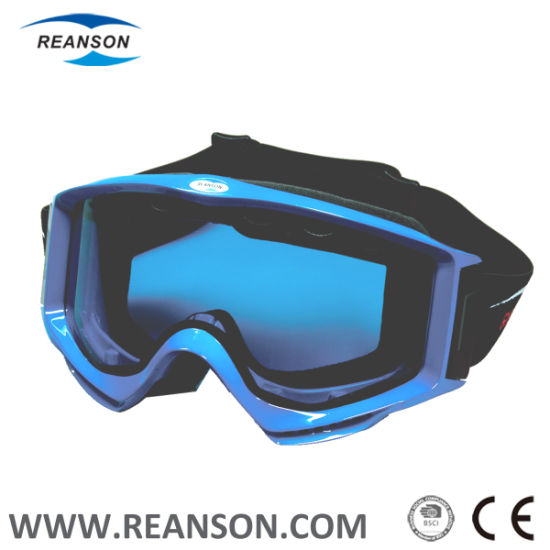 Nose-Protector Available Anti-Fog Motocross Skiing Sports Goggles