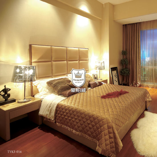 Singapore W Hotel Bed with High Quality Bed Frame in Bedroom Melbourne Design Hotel Bed