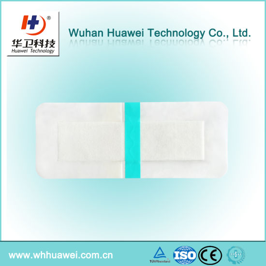 Skin-Friendly Breathable Super Absorbent Disposable Wound Dressing for Patient
