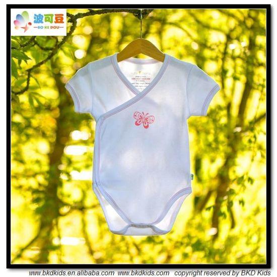 China Soft Organic Baby Clothes Kimono Style Unisex Baby Body