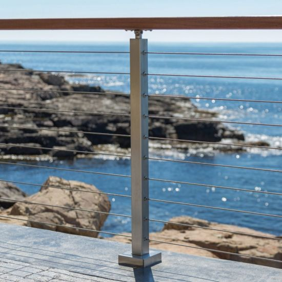 China Diy Cable Railing System Stainless Steel Balustrade China