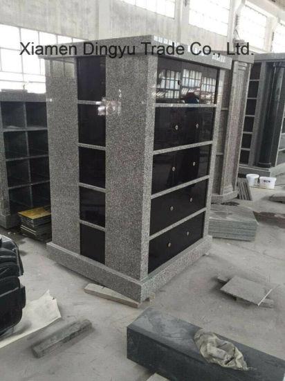 Dark Grey Granite Stone Columbarium / Columbaria