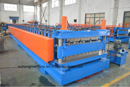 CE Certificated High Quality Double Layer Roof Sheet Roll Forming Machine pictures & photos