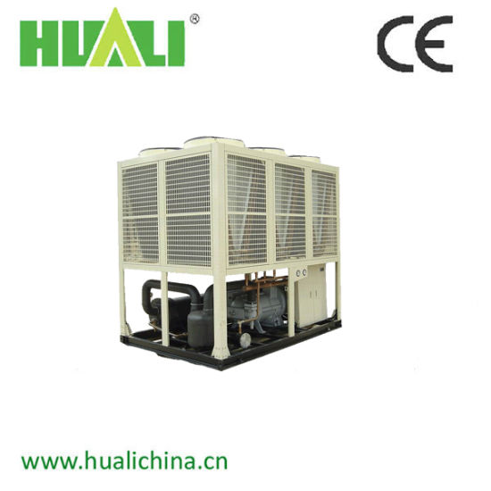 Air Cooled Double Compressor Type Screw Water Chiller pictures & photos