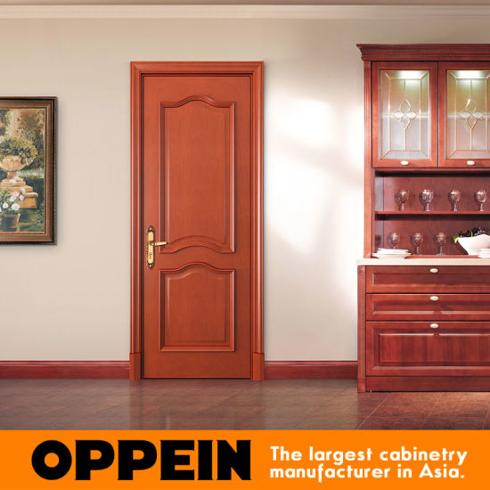China Oppein Noble High Quality Solid Wood Interior Door