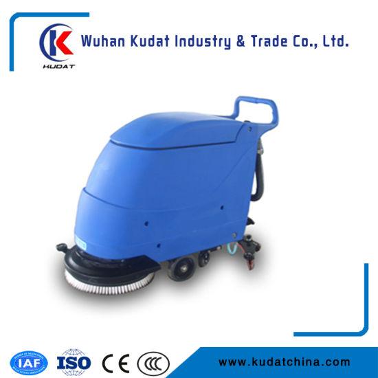 China Wet Scrubber Machine/Floor Scrubber - China Walk Behind