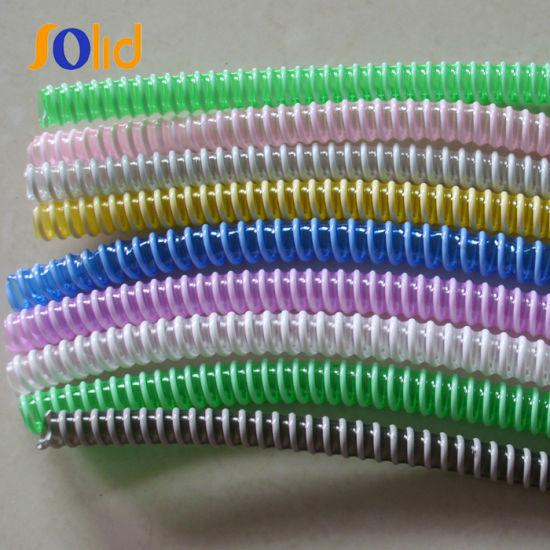 Plastic PVC Winding Suction Drainage Hose Pipe