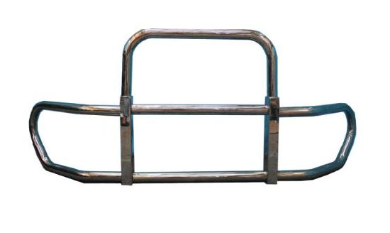 Stainless Steel Grille Guard for Freightliner Cascadia with Bracket 2018 2019, Stock in Ca