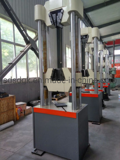 Gwa Series Computer Control Hydraulic Servo Steel Strand Tensile Testing Instrument/Equipment/ Machine pictures & photos