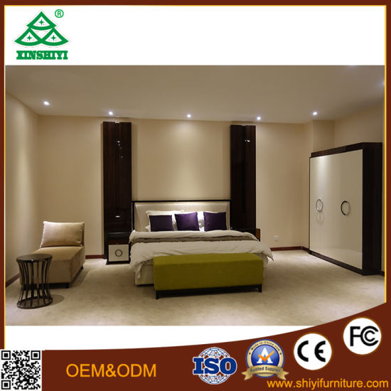 China 2017 Wholesale Soft Fashion Bed Set Hotel Bedroom Furniture ...