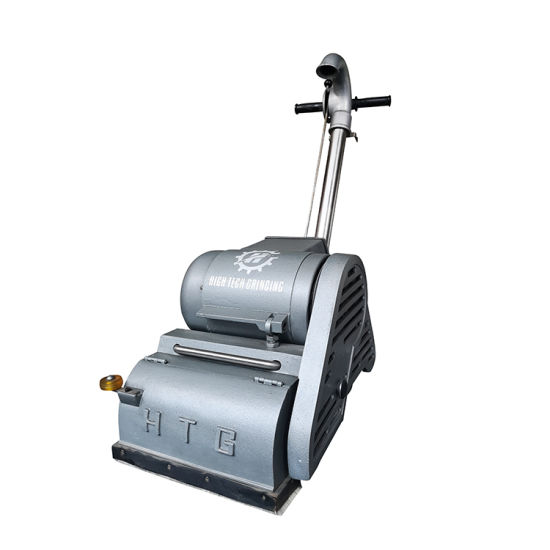 China Parquet Dustless Belt Sander Machine For Sanding Refinishing