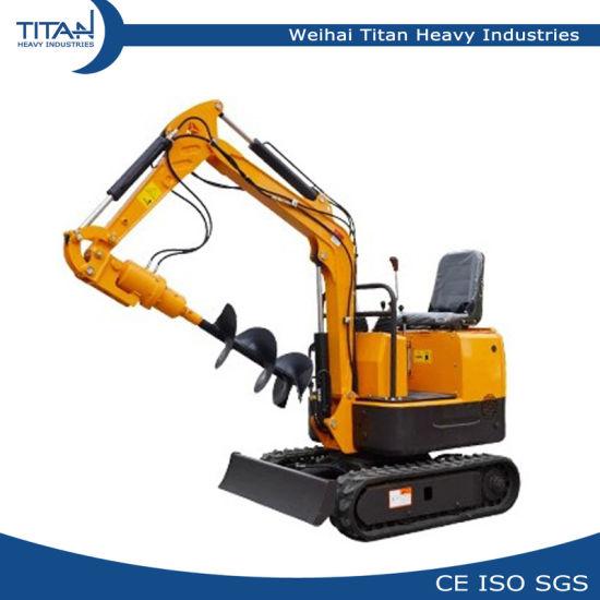 0 8ton Garden Mini Digger 800kg Mini/Small Hydraulic Crawler Excavators  with Best Price