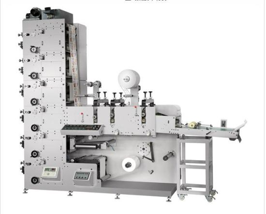 High Speed Label Flexo Printing Machine