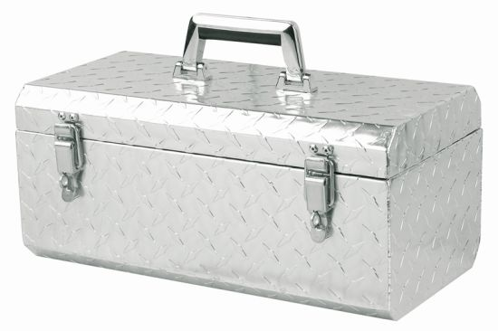 Profession Silvery Portable Aluminum Tool Storage Case