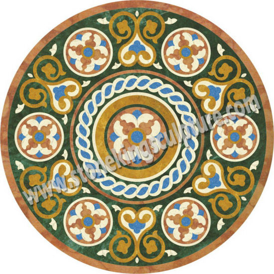 medallion for hotel china hall waterjet marble obvezapuaqkj stone product natural