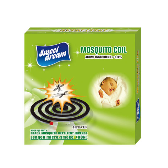 China Smokeless Black Mosquito Coil for High Efficient Mosquito Killer