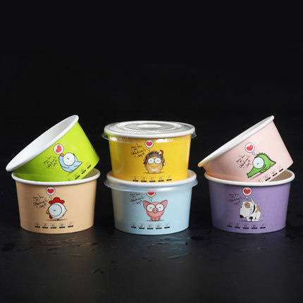 China Manufacturer Custom Design Ice Cream Paper Cup pictures & photos