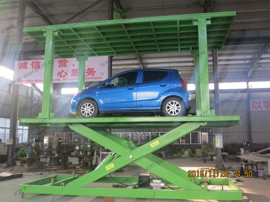 Hot Selling CE Certification Hydraulic Platform Car Elevator
