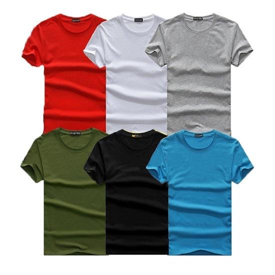 Wholesale New 100% Cotton OEM Design Logo Customized Printing Embroidery Round Neck Adult Men Women T Shirt