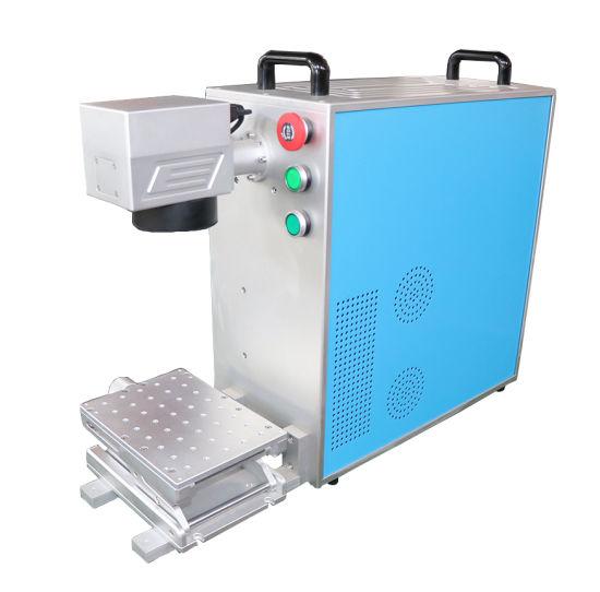 20W 30W 50W Metal/Watches/Camera/Auto Parts/Buckles Laser Marker Machine