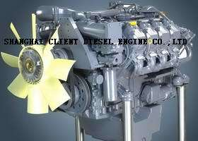 Deutz Diesel Engine Tcd2015V08 for Engineering