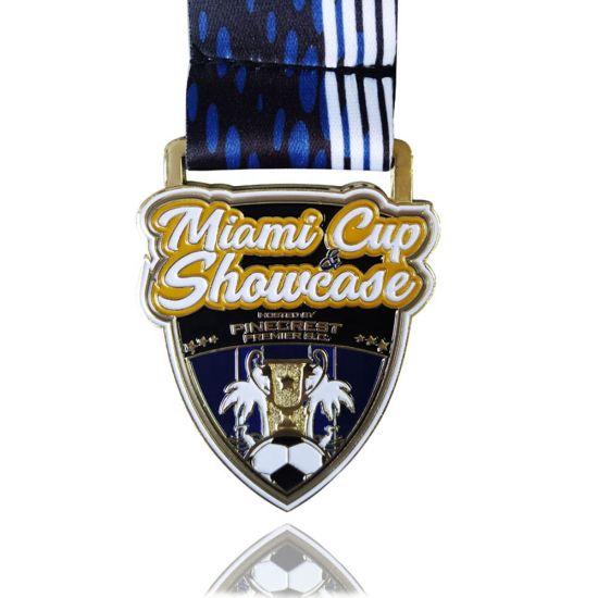 Custom Metal Logo Zinc Alloy 3D Sports Running Medal
