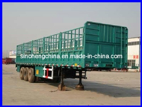 13m Storage Grid Semi-Trailer Supplier pictures & photos