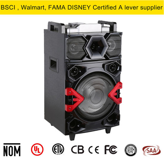 China Single Channel 12inch Speaker Box with LED Lighting - China