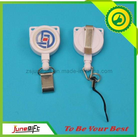 Hot Sale Retractable Badge Reel with Metal Clip