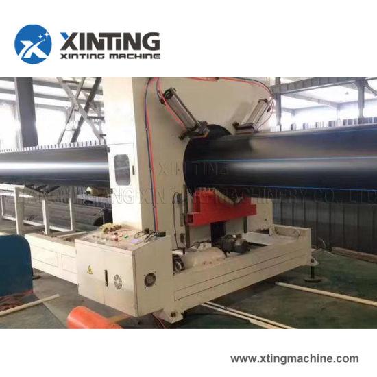 20-500mm Diameter of Plastic PE Water Pipe Extruder Making Machine Line