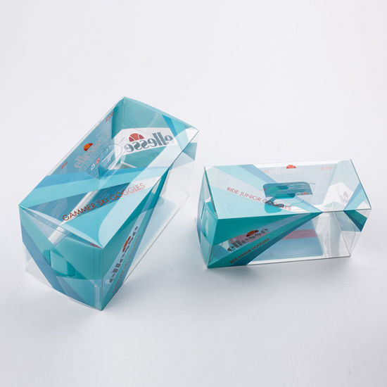 Manufacture Custom Foldable Clear Gift PVC Box Packaging