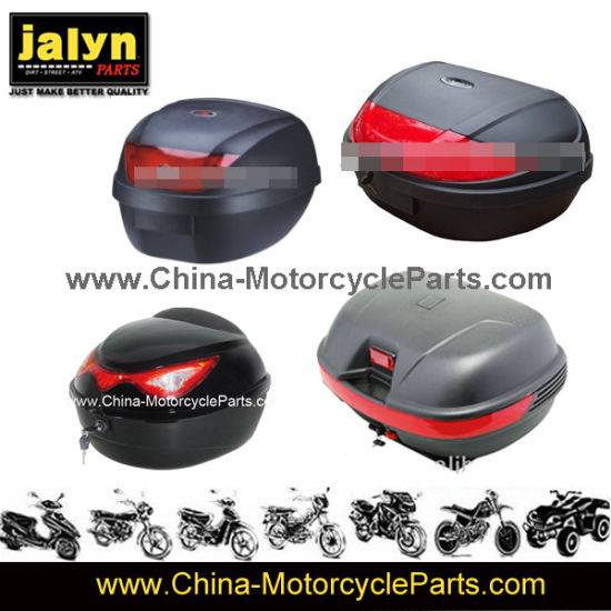 Two Helmets Available Sit Inside Motorcycle Luggage Box pictures & photos