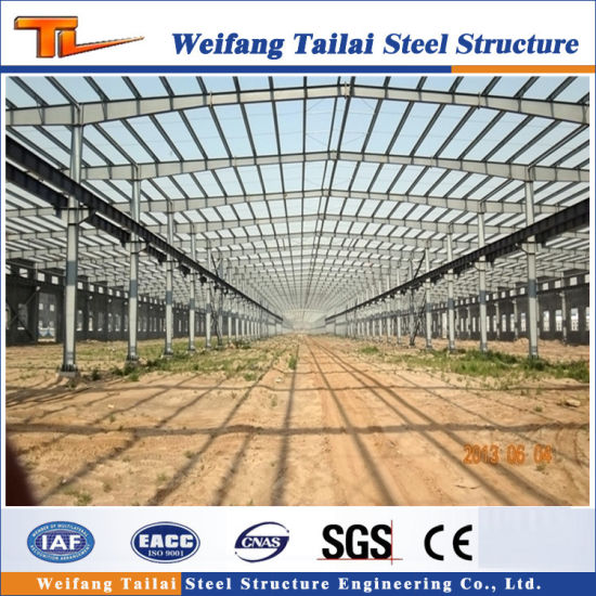 China Low Cost Light Steel Structure Frame Factory of Prefabricated ...