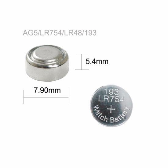 Watch 10 pack AG5 Button Cell Alkaline Battery for Calculator