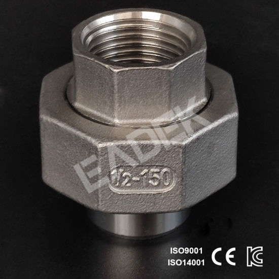 Stainless Steel Welding Union Male/Female Threaded Pipe Fitting Manufacturer