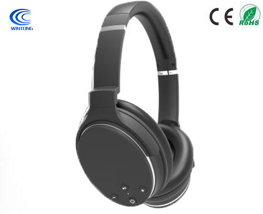 Active Noise Cancelling Anc Wireless Bluetooth on Ear Headset