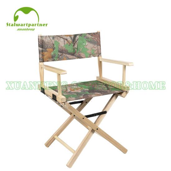 Wood Folding Canvas Director Chair